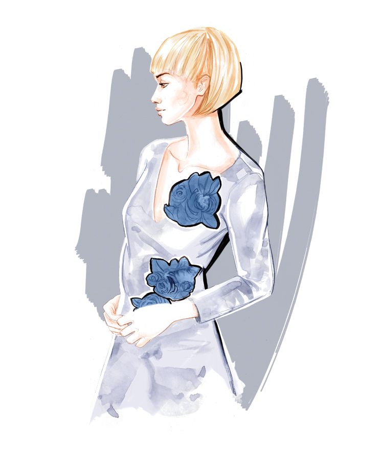 s/s 2016 bySun - Fashion Illustration by Willa Gebbie