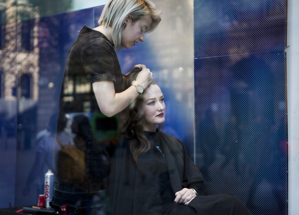 Diesel In-store Event Glasgow Hairdressing