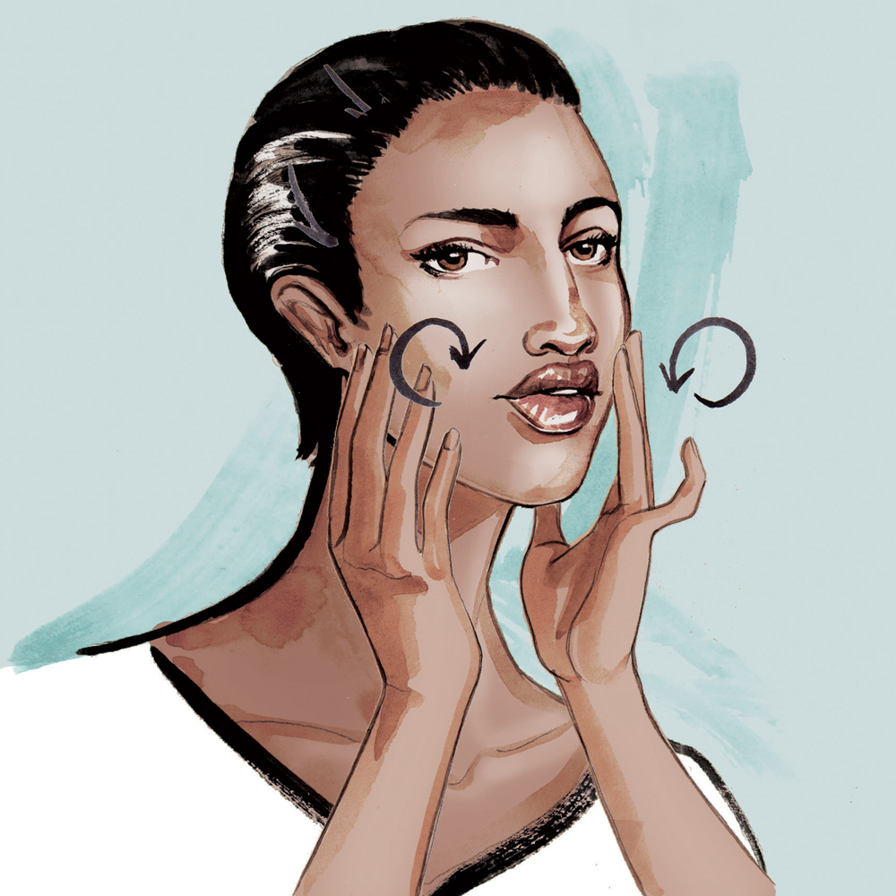 Beauty & Fashion Illustrations for Stylist magazine by Willa Gebbie