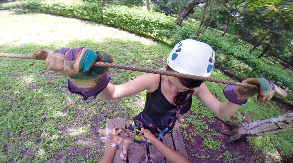 canopy-pre-course-train.jpg & Mal Pais Zip Line / Canopy Tour u2014 Costa Rican Tropical Tours