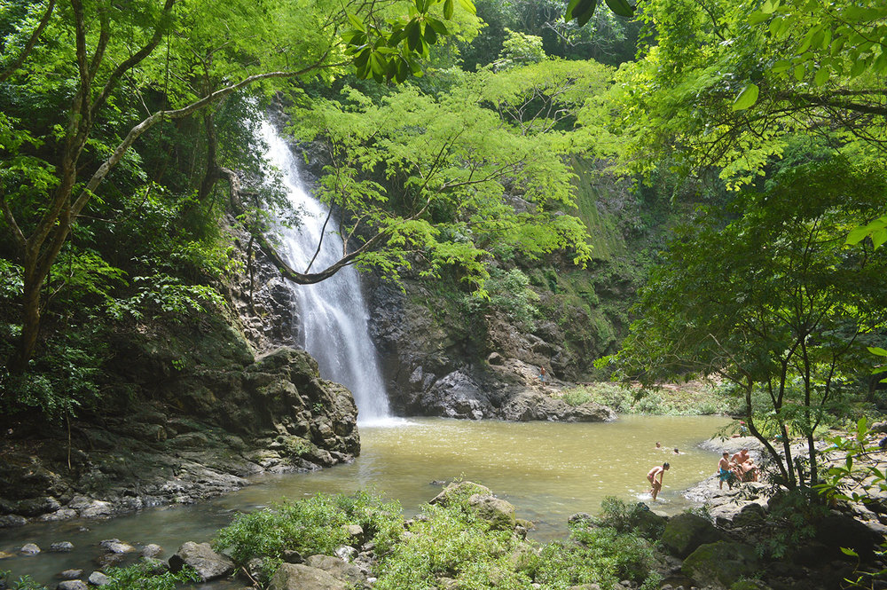A beautiful view of the Montezuma Waterfall