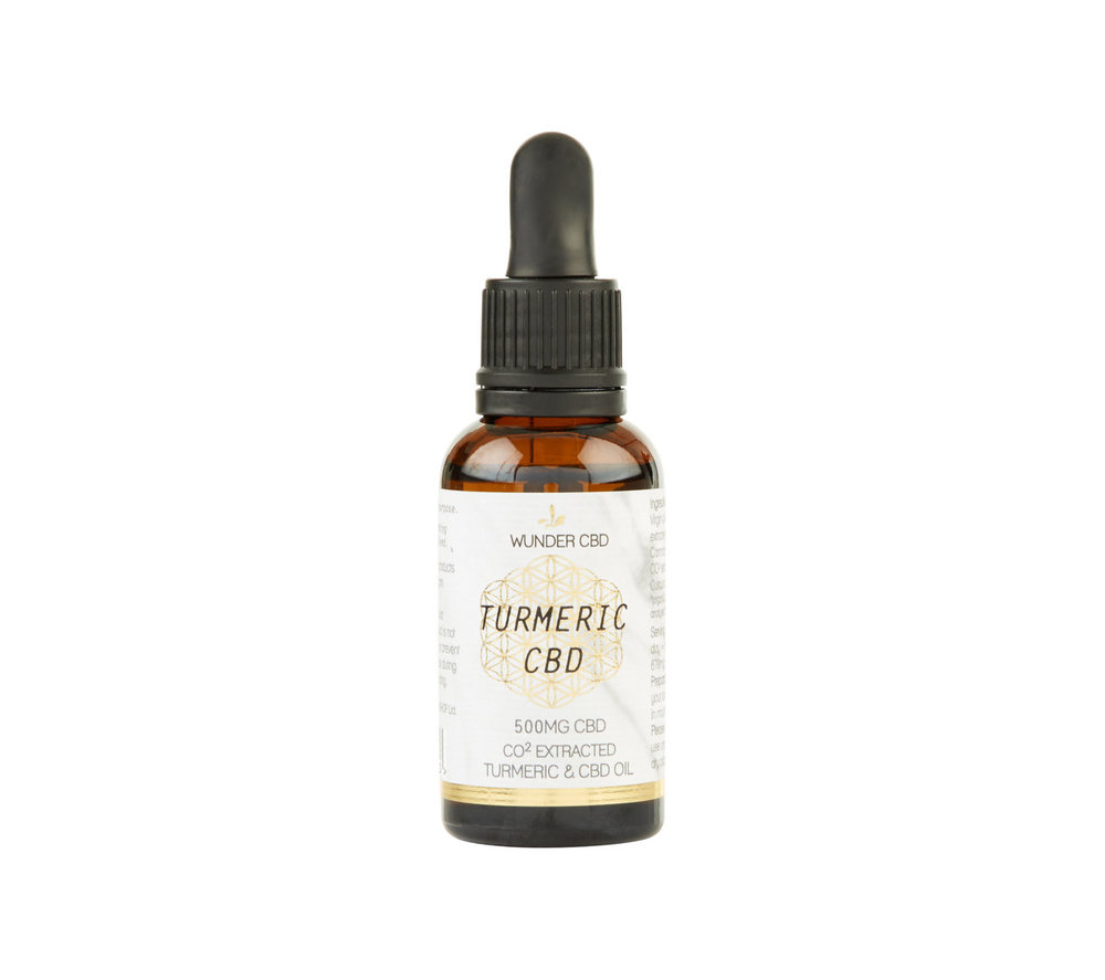 Wunderworkshop Turmeric CBD Oil