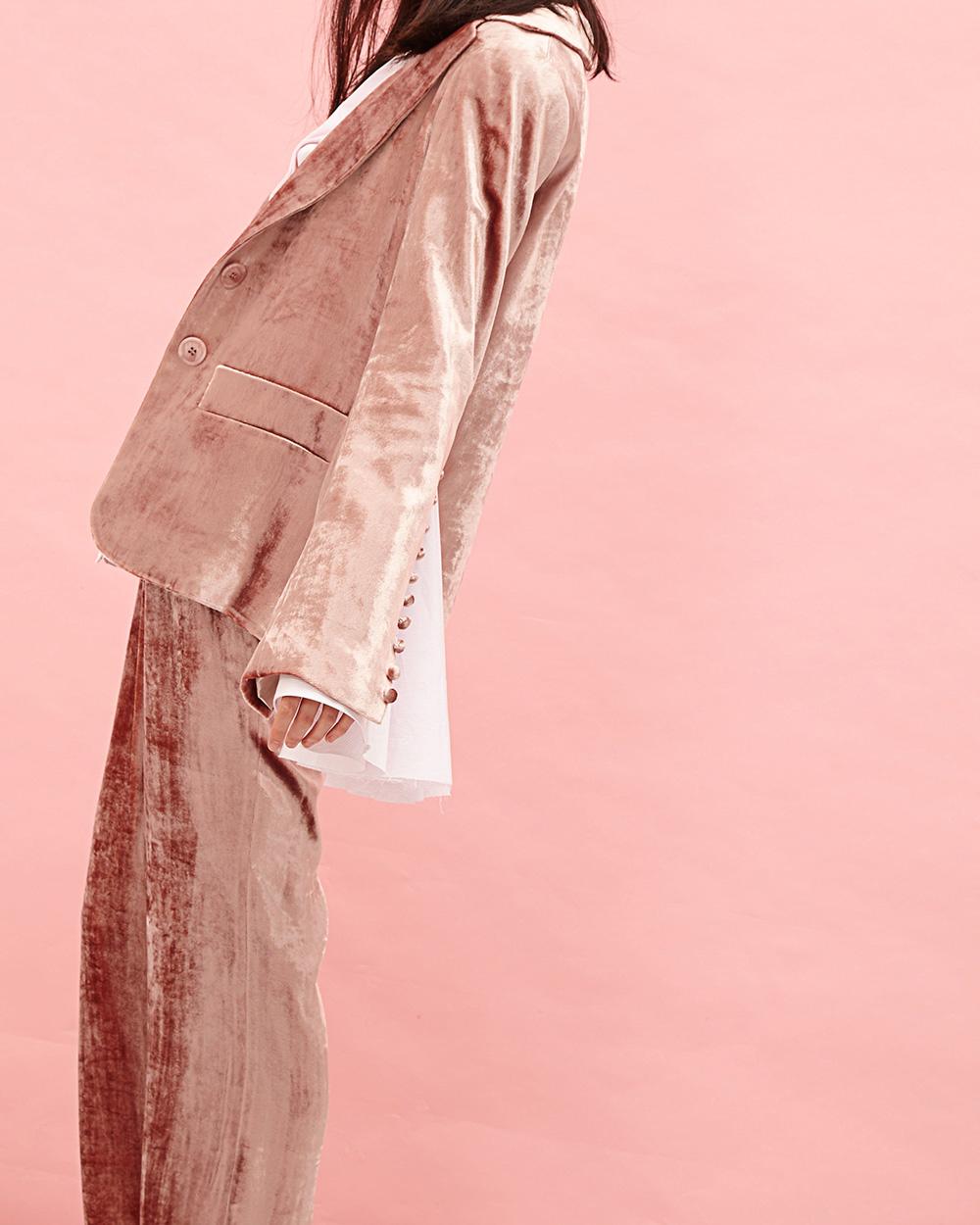 Milo Maria Velvet Blazer + Pants