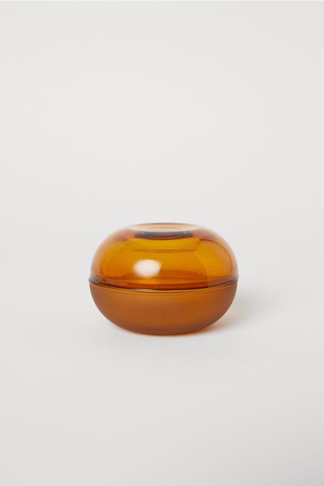 Small Glass Pot
