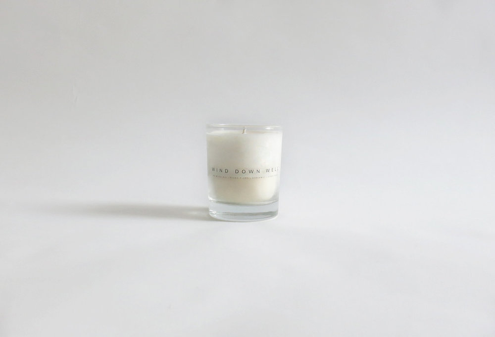 Wind Down Well Candle