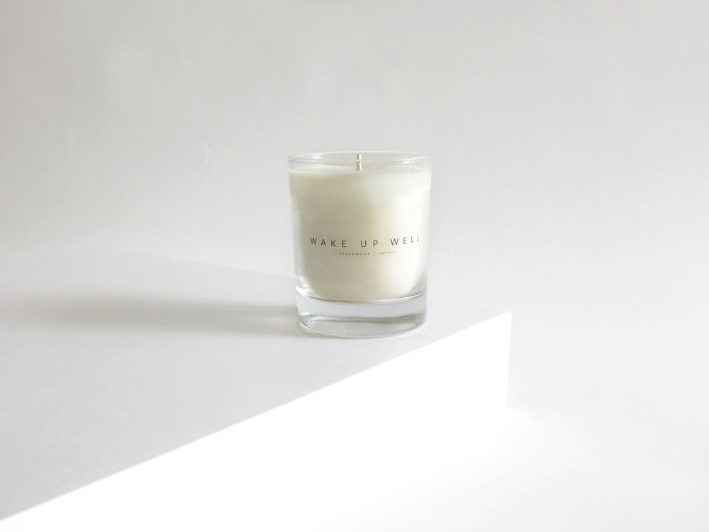 Wake Up Well Candle