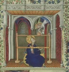 Grandes Heures de Jean de Berry, f34r.Bibliothèque nationale de France