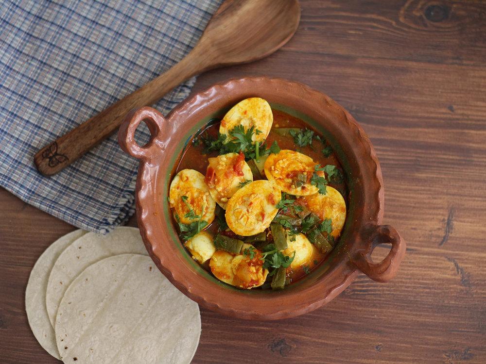 Egg Curry Nopalitos