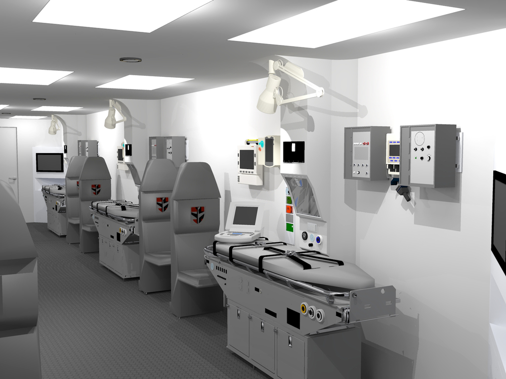 Critical Care Module Rendering 1