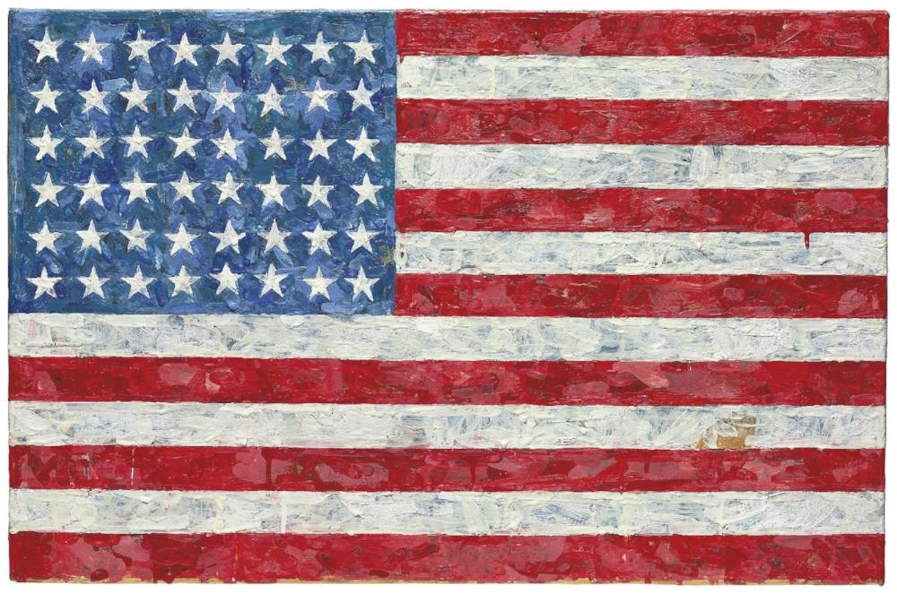 jasper johns flag.jpg