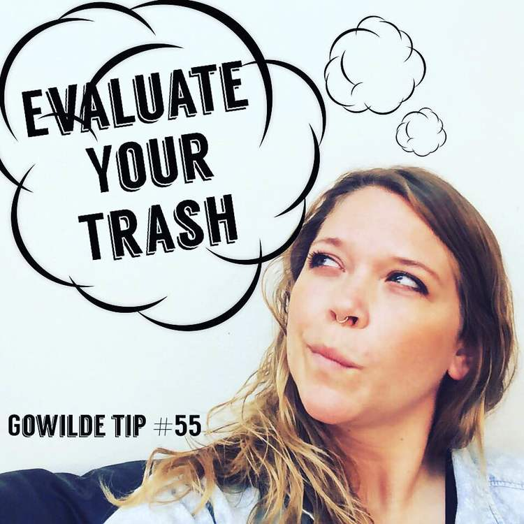 Have you ever stopped to think about how much trash you produce everyday?  The average person generates 4.3 pounds of waste per day.
