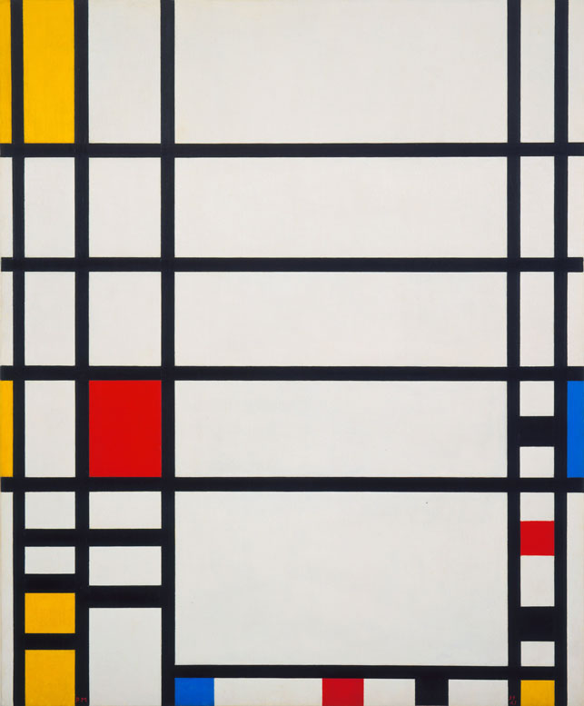 moma: Use MoMA's collection as inspiration for your Halloween costume! Read our suggestions on our blog, and share your own ideas in the comments. [Piet Mondrian. Trafalgar Square. 1939-43]