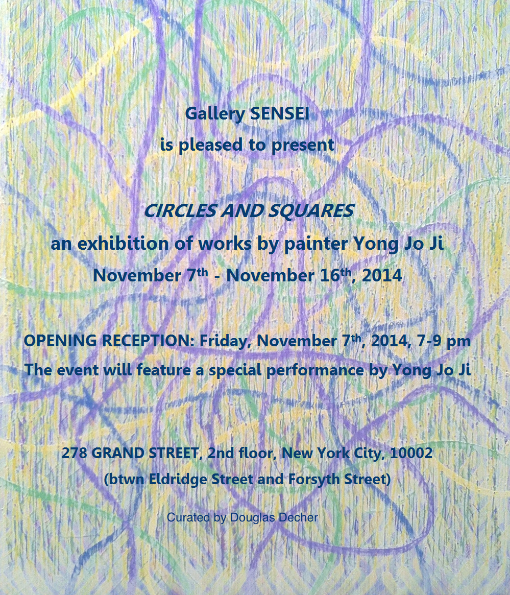 You are invited!    November 7th -16th    at Gallery Sensei