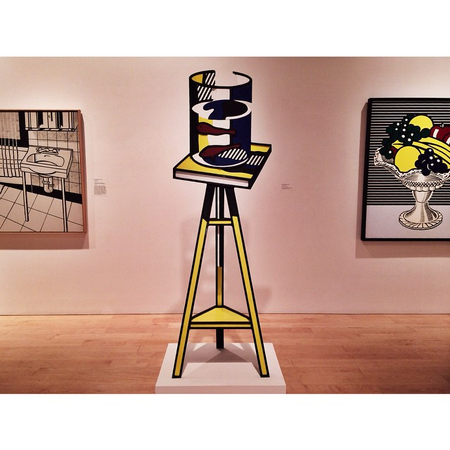 "whitneymuseum :     ""Color is crucial in painting, but it is very hard to talk about."" — Roy Lichtenstein ,"