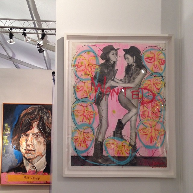 Booth at Select Art Fair Miami #art #miami #artfair #harifguzman #streetart #curate #collect #artsy #artshow #artbasel #gallerysensei #selectartfair #areyouselect