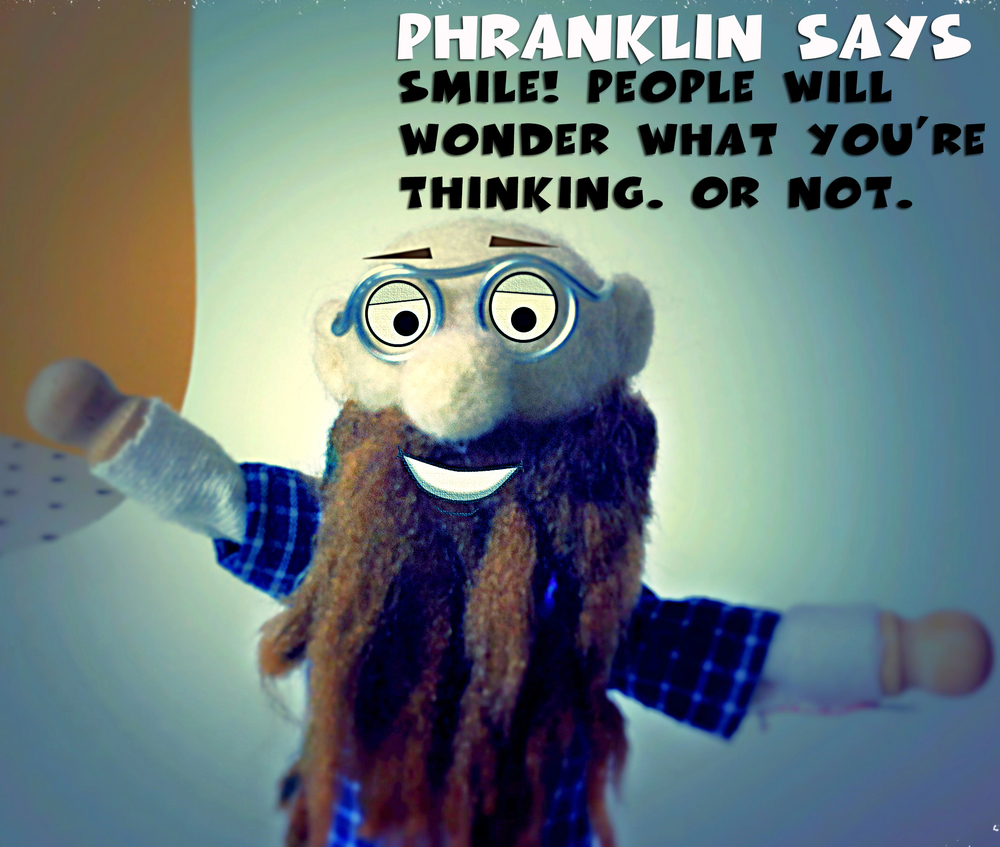 Phranklin Feltnik Says Smile