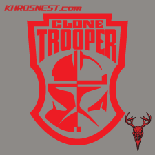 SW - Clone Trooper Badge