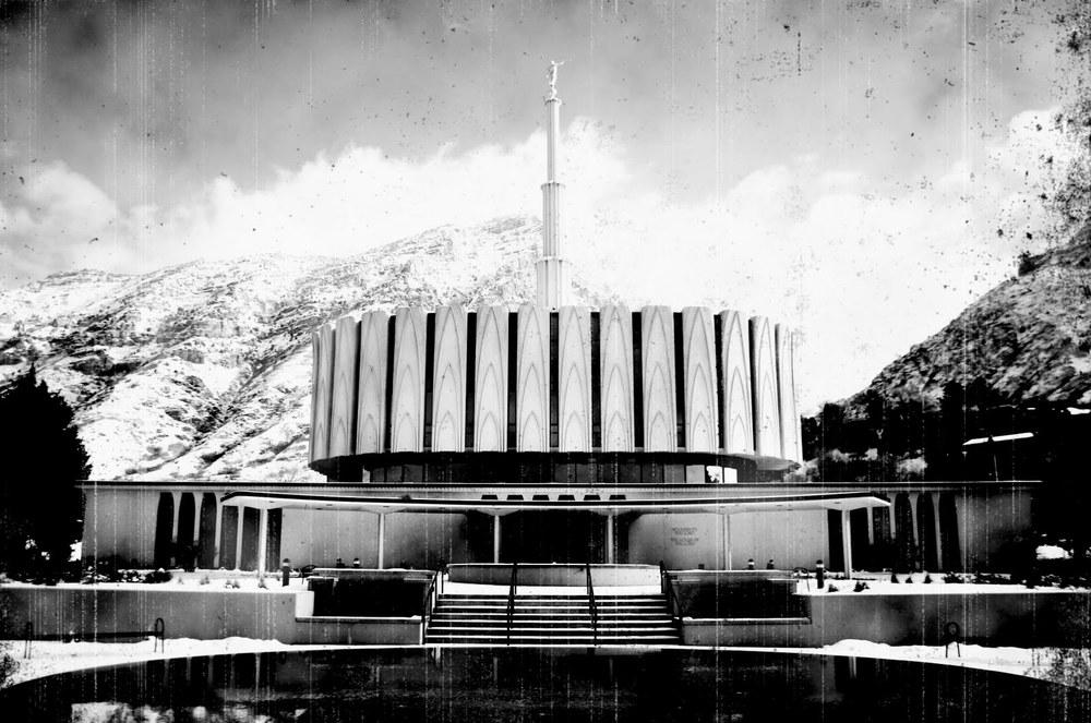 Provo Utah Temple, 1975