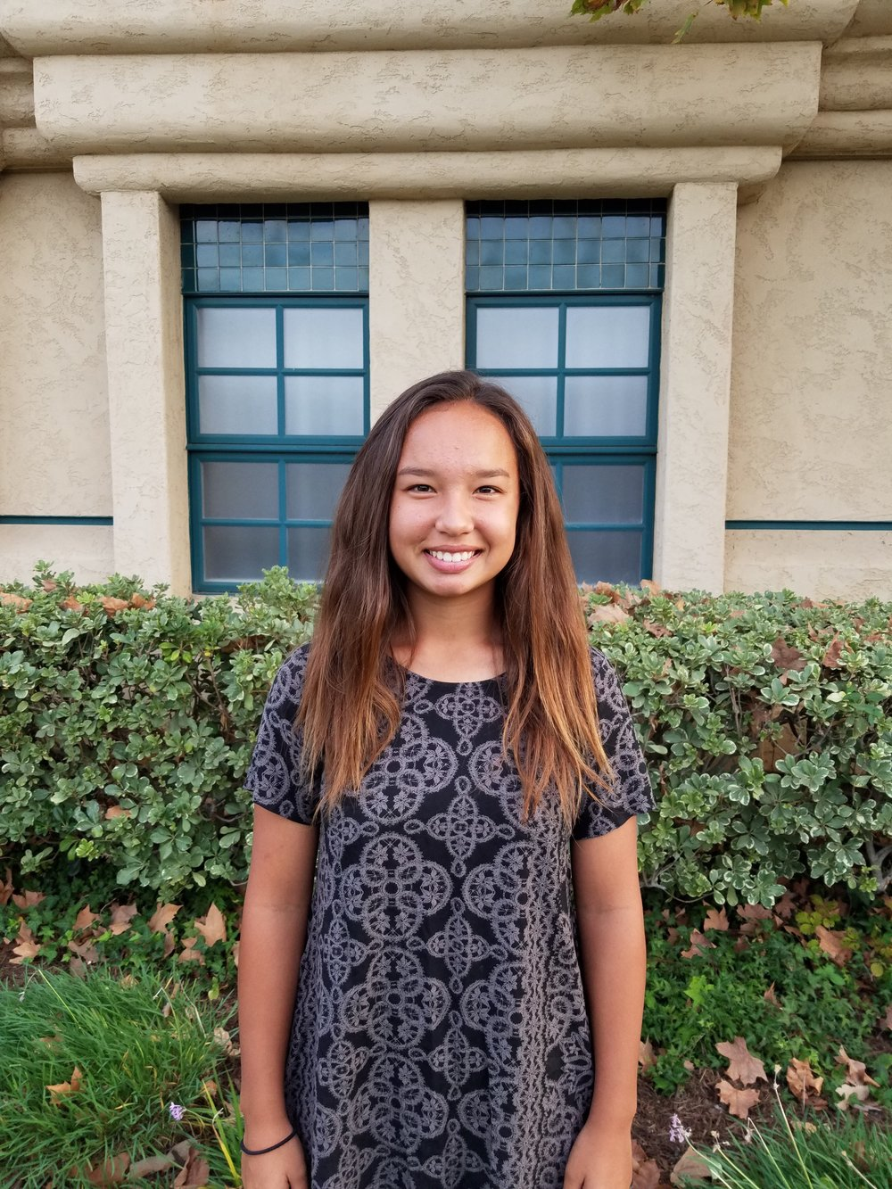 Krystin Brown  Age 16  Attends Trabuco Hills High School  Enjoys playing soccer  The Gospel gives me the eternal perspective I need to be able to shape how I live my life. I always feel the love and comfort Heavenly Father has for me.