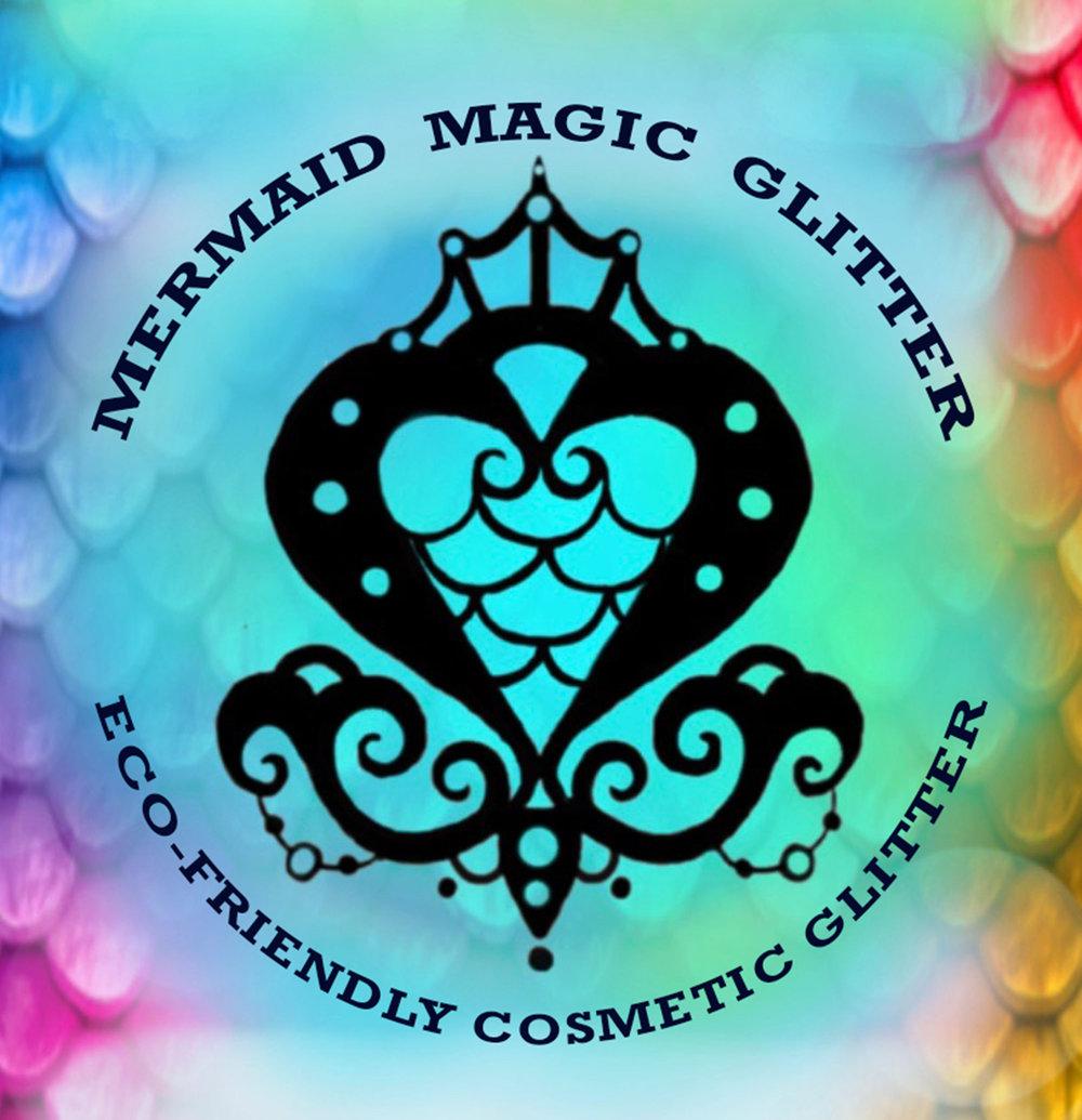 Biodegradable Cosmetic Glitter & Reusable Bling.  Website:  www.mermaidmagicglitter.com   Facebook:  www.facebook.com/mermaidmagicbioglitter/  Instagram:  @mermaid_magic_glitter