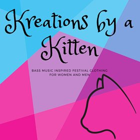 Bass music inspired festival apparel~. Each kreation is made with love based on your vision  Website:  www.etsy.com/shop/Kreationsbyakitten   Instgram:  @kreationsbyakitten