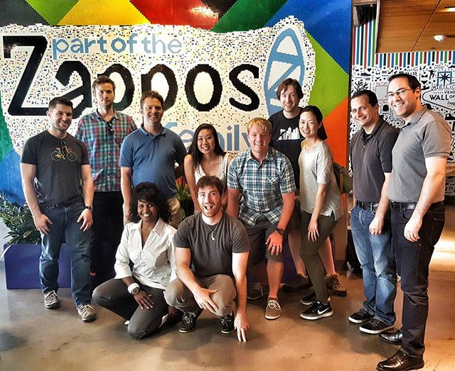 Toured Zappos while in Vegas and had a QA session with their support team. Some great takeaways. #zappostour