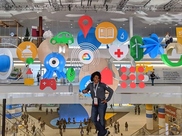 My feet have finally recovered from doing research at Cloud Next last week. And the Android figurines were winning. I appreciate all who stopped to talk to us! #googlenext19 #uxresearch #userresearch #uxr #hci