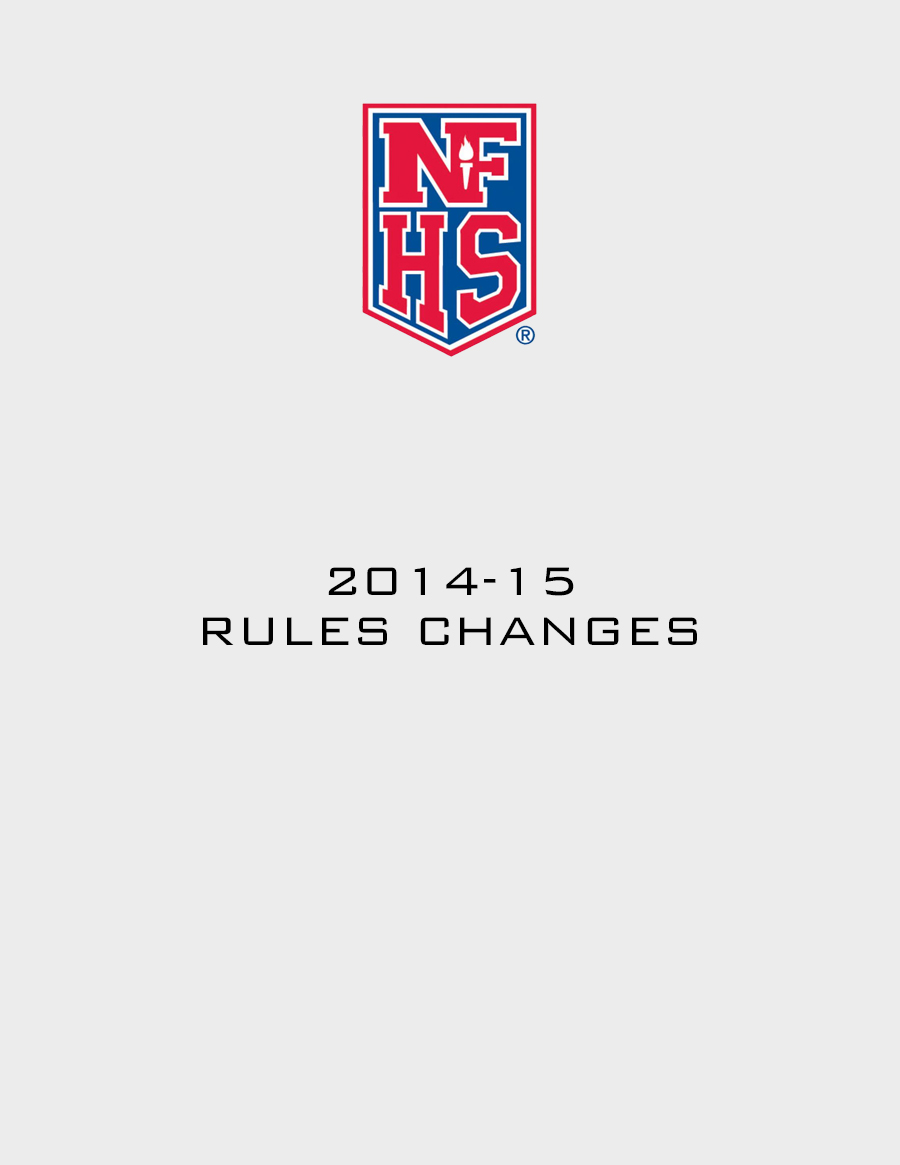 Rules Changes 2014-15