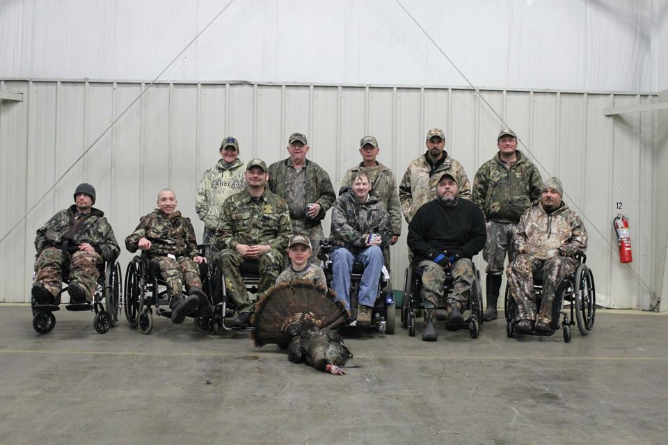 The Wheeling Sportsmens Club and NWTF organized a turkey hunt for all interested that have disabilities.    The Wheeling Sportsmen and NWTF are forever in our family!