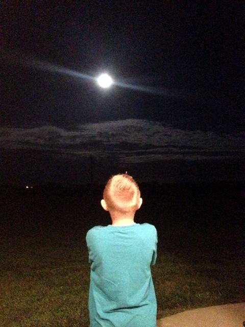 Braedan dreaming of a World without Duchenne
