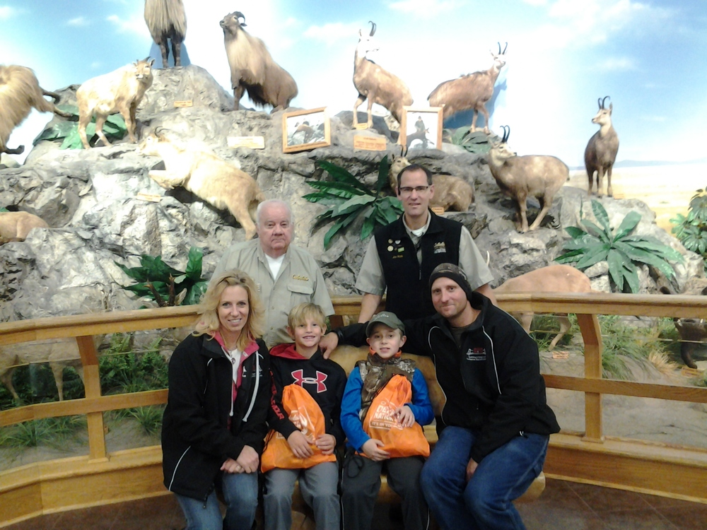 Trip to Cabela's in Dundee MI to get Braedan geared up for his first deer hunt. Cabela's treated him like a king. Thanks so much to all!!!