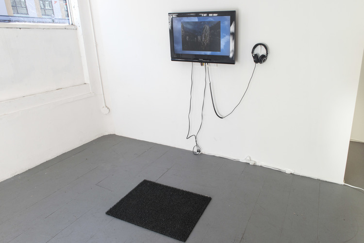 Installation view of  Where do we go from here? at Avenue Gallery, Vancouver, BC as part of group show  Anticipating Distance .
