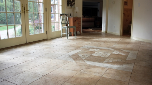 slippery ceramic tile floor non-slip floor treatment