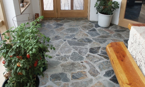 slippery natural stone tile floor treatment