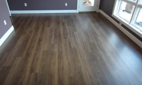 slippery vinyl plank floor coating treatment