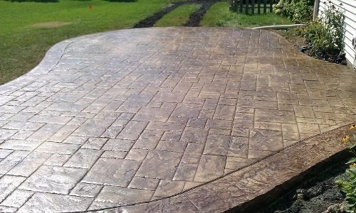 slippery stamped concrete paint coating