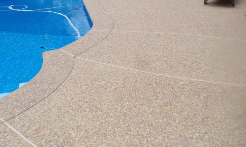 slippery aggregate concrete coating paint