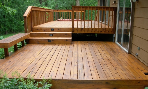 non slip wood deck coating treatment