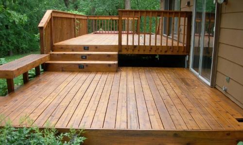 non slip wood deck coating treatment