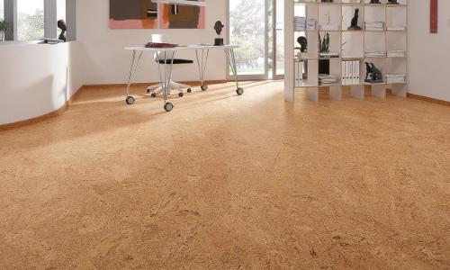 non slip cork floor coating treatment