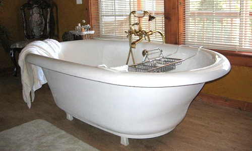 slippery porcelain bathtub coating