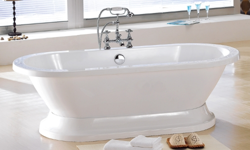 slippery acrylic bathtub coating treatment