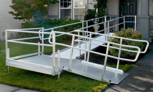 non slip metal ramp treatment coating