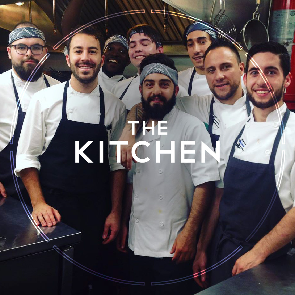 Our kitchen is inspired by Italian traditions and influenced by our Canadian heritage. -