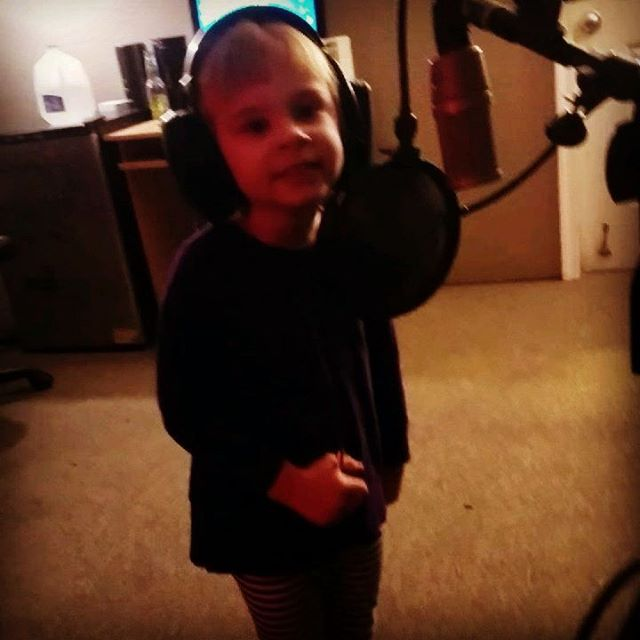 My niece singing songs 60 years older than she is. Grandpa influenced, Uncle approved! #exeterrecordings #oldies #recordingstudio#recording #audio #music #musician #musicians#studiolife #rock #drums #cute #guitar #bands#indierock #drummer #guitarist #kids #adorbs #musicislife #sound #percussion #hardcoremusic  #microphone #classic#life #singer #tones #studio #artist