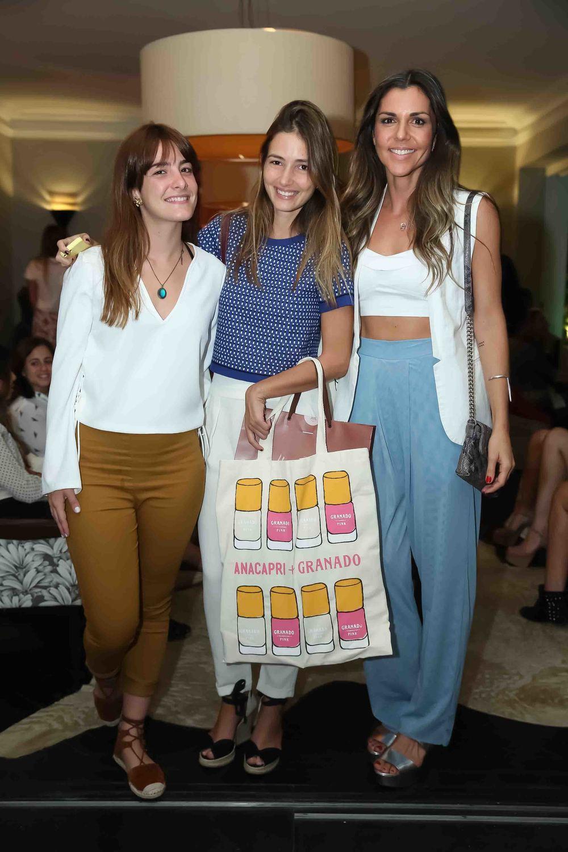 Bebel Sader, Georgia Bonisson e Rafaella Cardoso