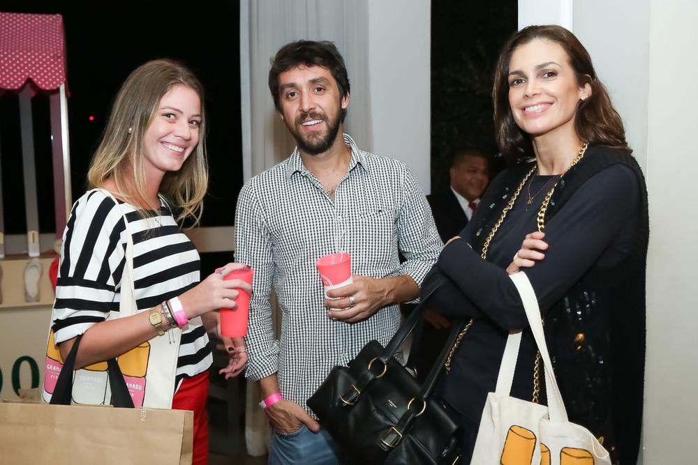 Danielle Costa, Ricardo Tavares e Daniela Oliveira