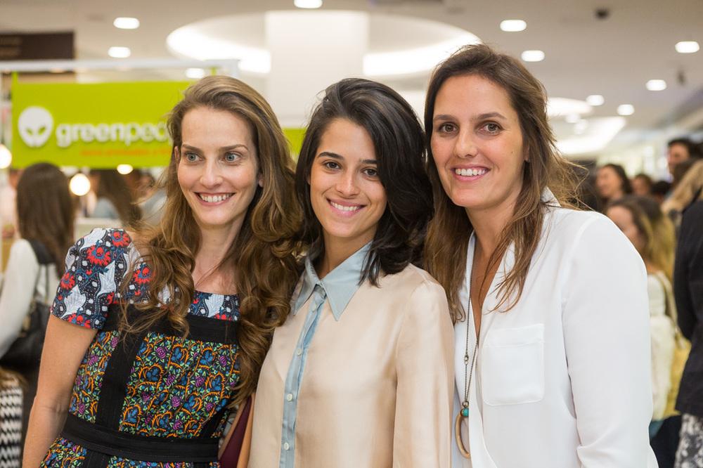 Bianca Laufer, Valentina Falk e Tereza Gouvea Vieira