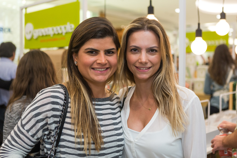 Carolina Paes Leme e Maria Clara Dias