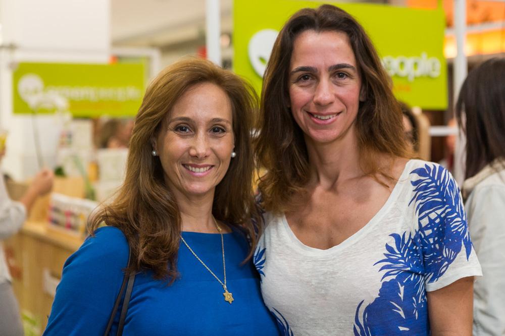 Luciana Nasajon e Mabel Graham